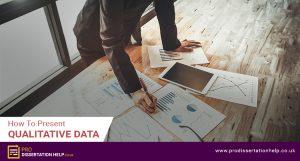 how to present qualitative data